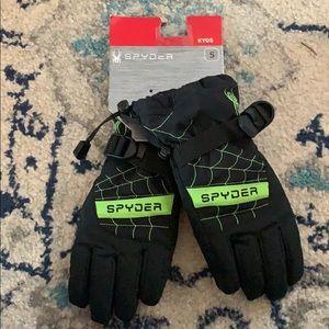 Spyder youth gloves